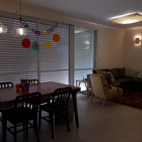 למכירה – דירת 4.5 חדרים + מרפסת שמש בלב הפארק